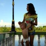 В Таиланде с маленьким ребенком