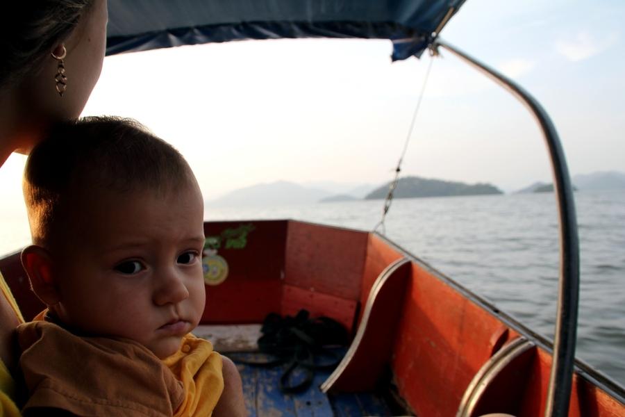 Саша на озере Каенг Крачан