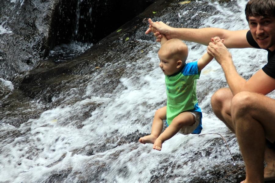 Sasha And Pa La-U Waterfall