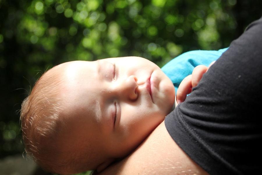 Малыш уснул