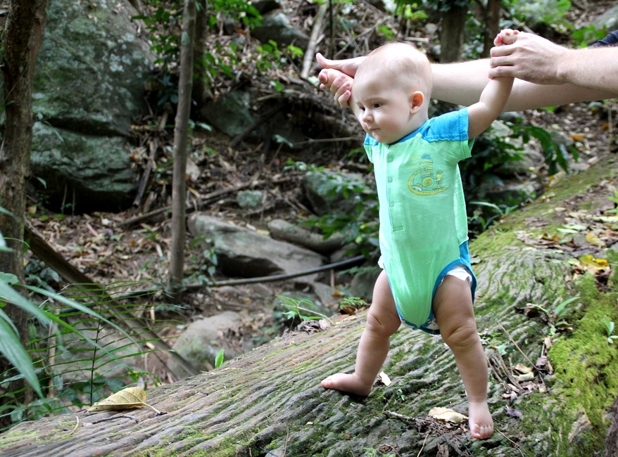 Sasha And Pa La-U Waterfall Jungle