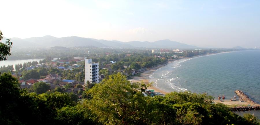 Вид на Хуа Хин