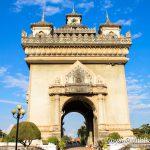 Триумфальная арка Патусай в Лаосе