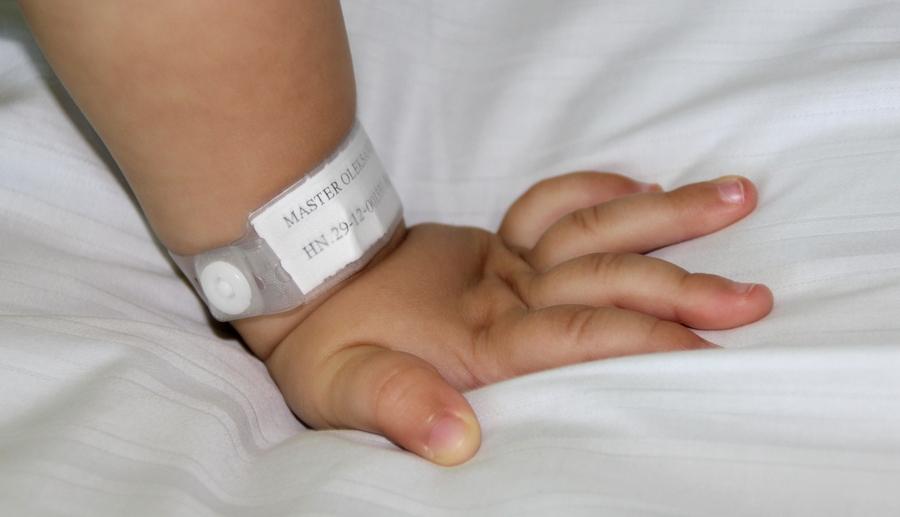 больничный браслетик
