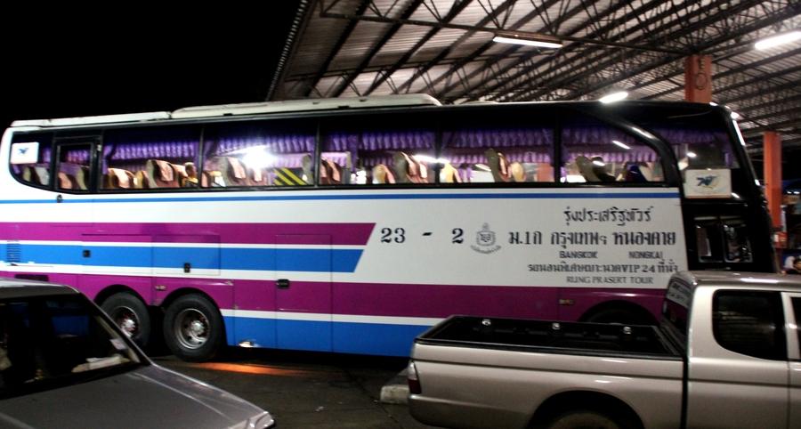 Автобус Бангкок - Нонг Кхай