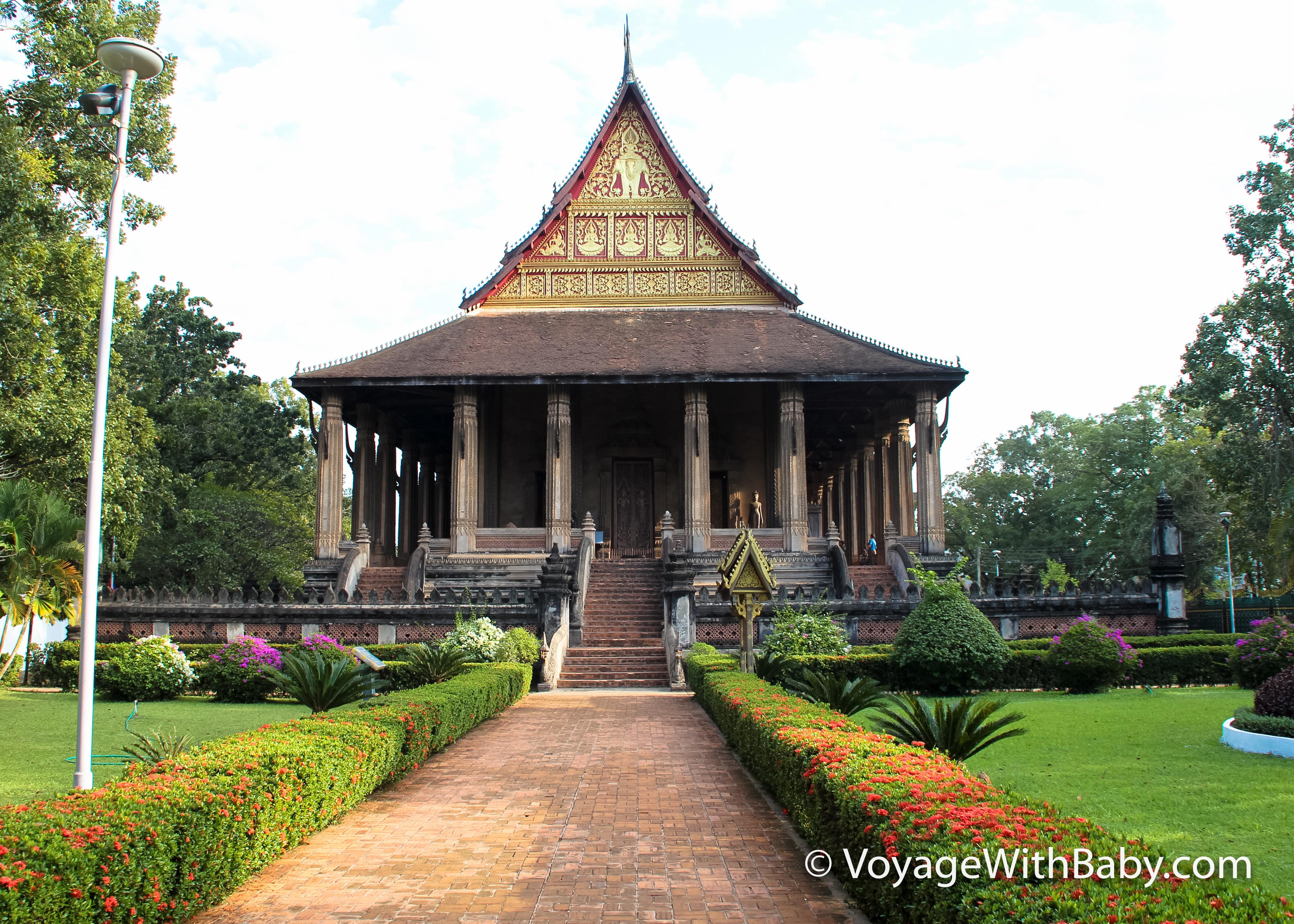Храм Изумрудного Будды в Лаосе