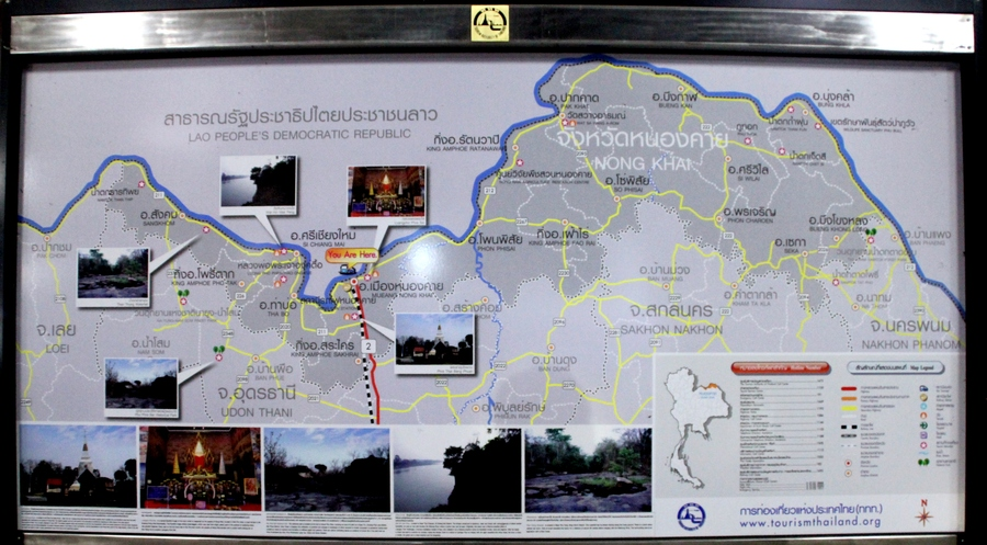 Nong Khai Map