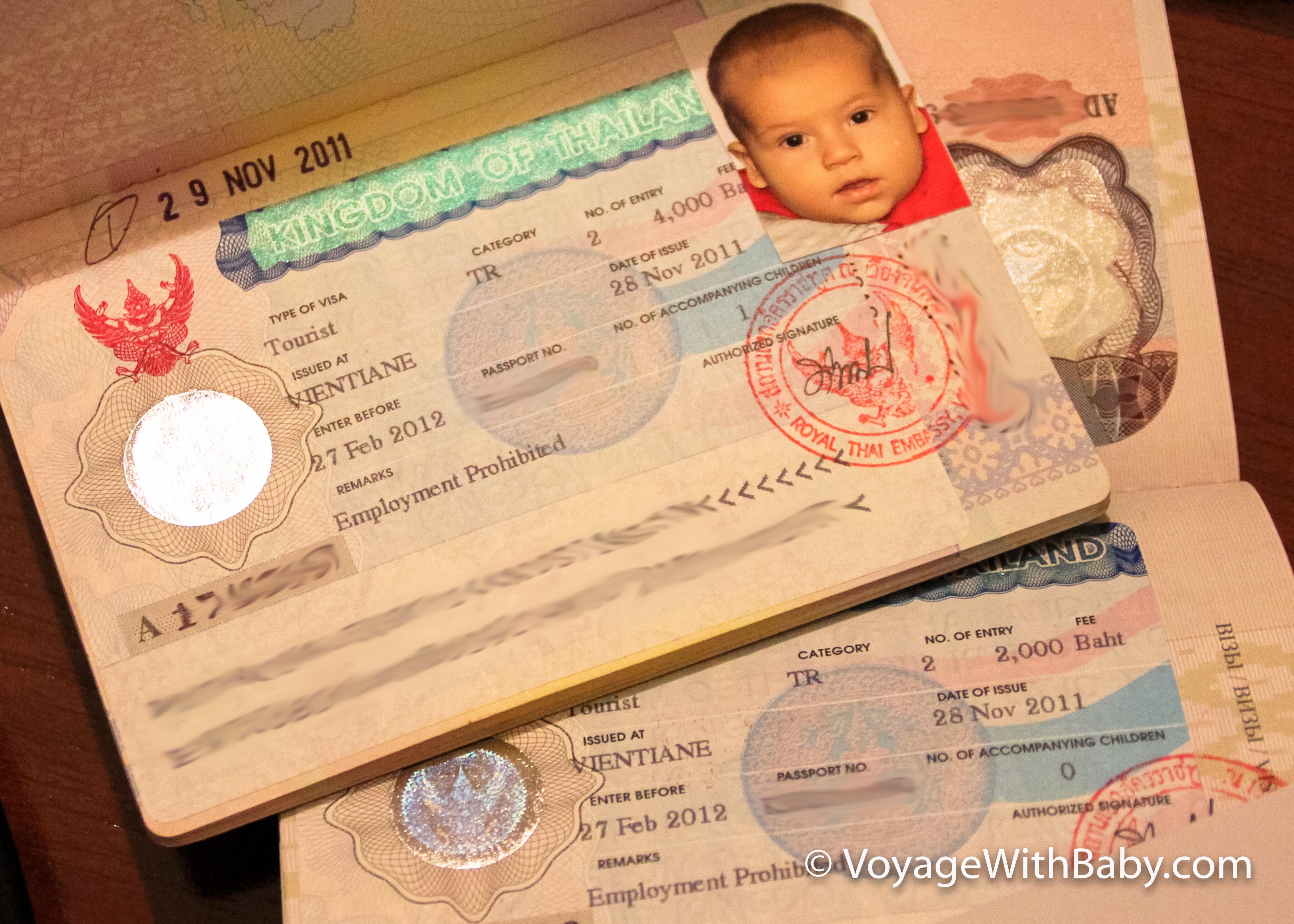 Получение тайской визы в Лаосе