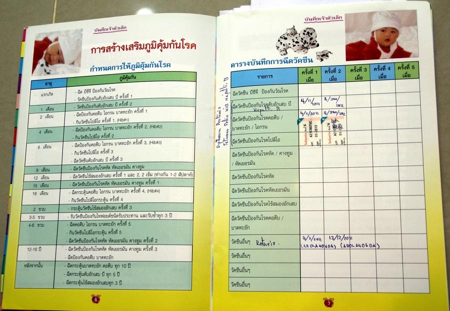 Прививки в Таиланде