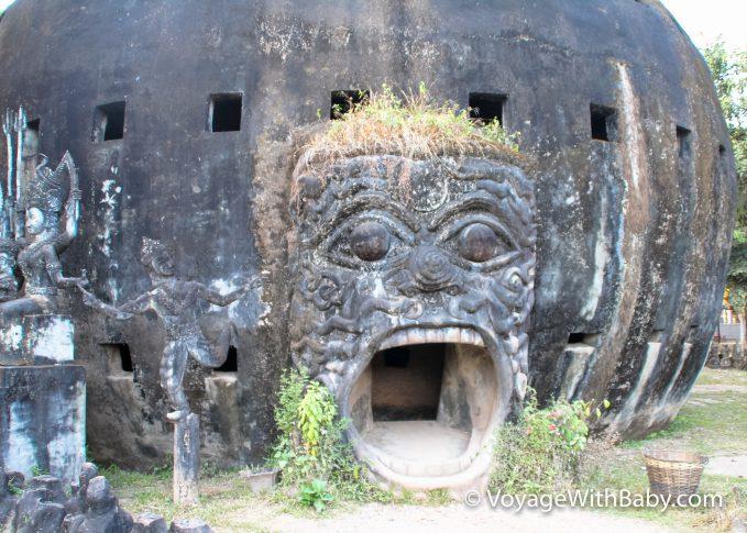 Будда Парк в Лаосе