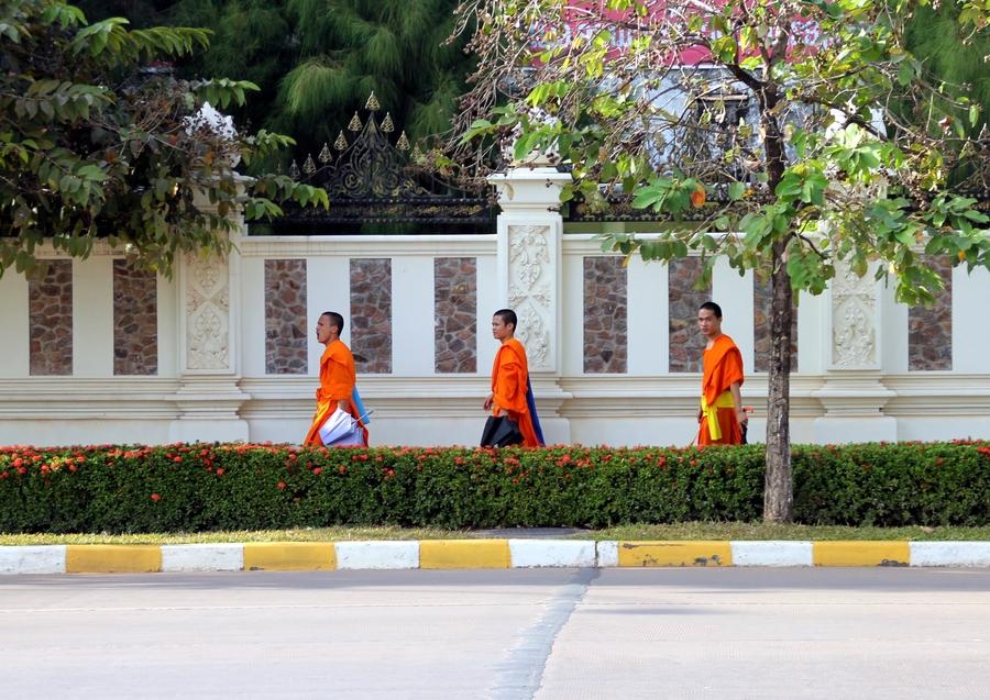 Лаосские буддисты
