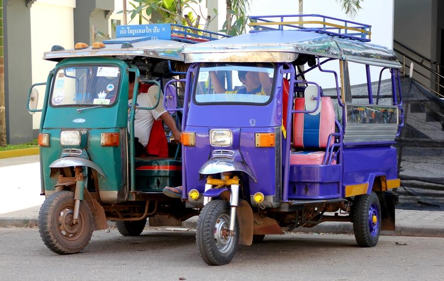 Такси в Лаосе