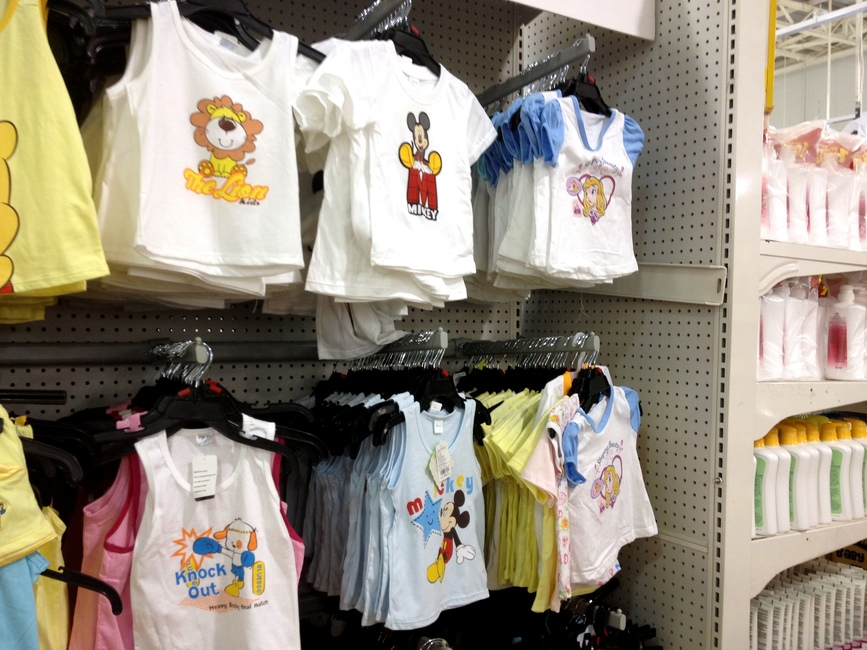 Дешевая детская одежда в Таиланде