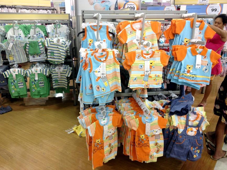 Одежда для ребенка в Таиланде