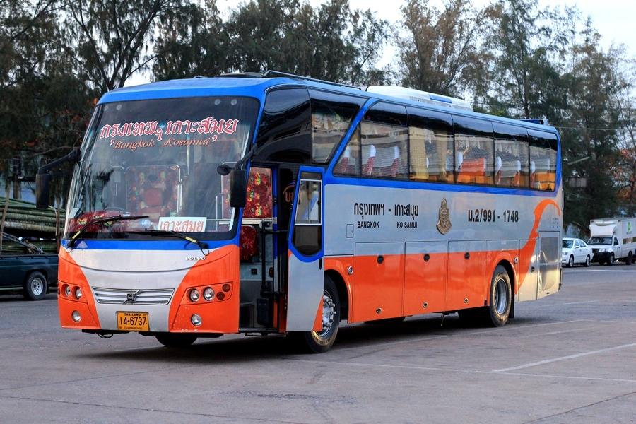 Автобус Бангкок-Самуи