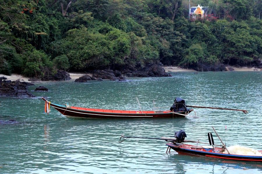 рыбацкие лодки в Таиланде
