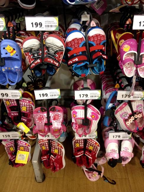 Обувь для ребенка в Таиланде