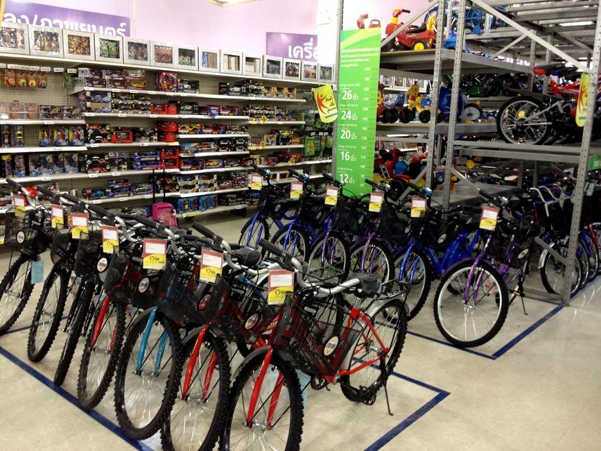 Велосипеды для ребенка в Таиланде