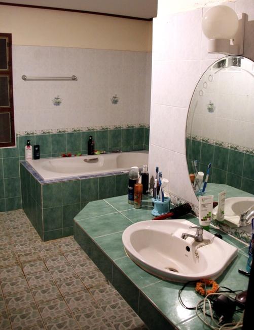 ванная в доме на Самуи