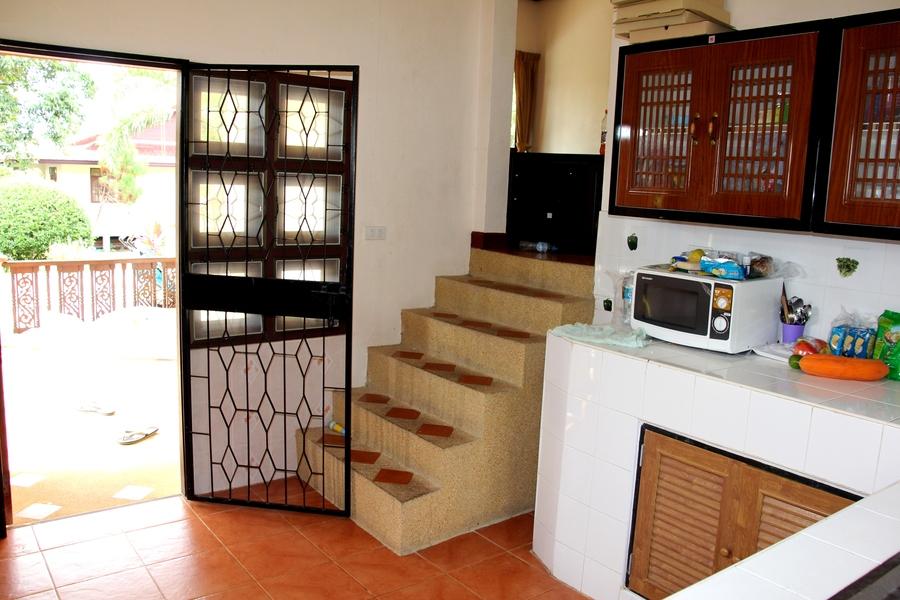 Кухня в доме на Самуи