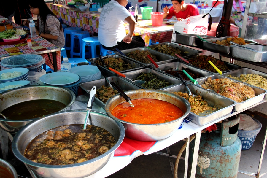 Тайская еда. Тайская уличная кухня