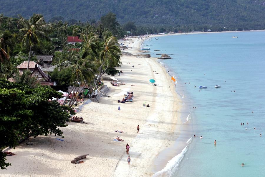 Пляж Ламаи на Самуи (Тайланд)