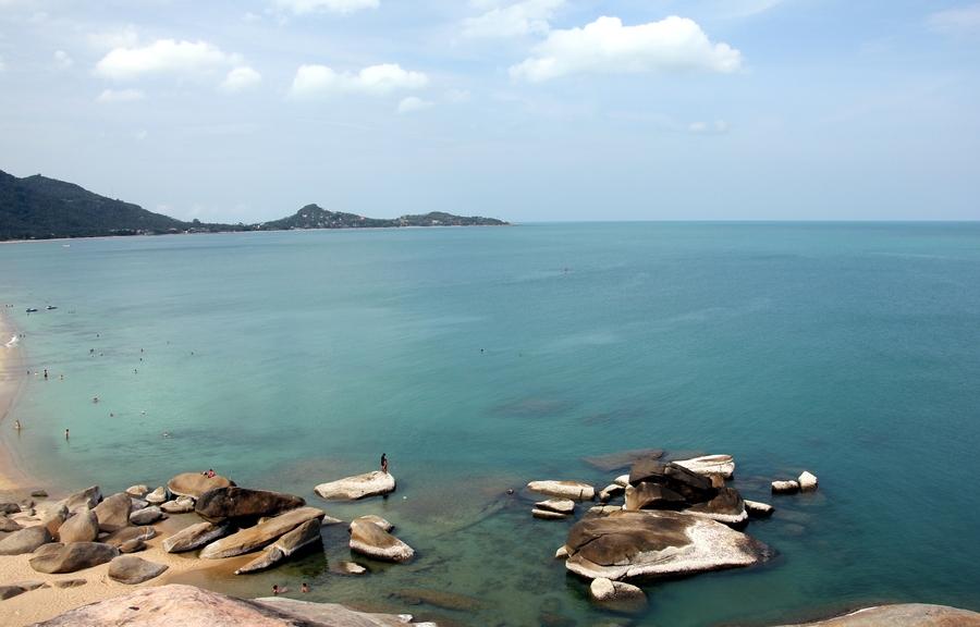 Пляж Ламаи (Lamai Beach) на острове Самуи, Таиланд