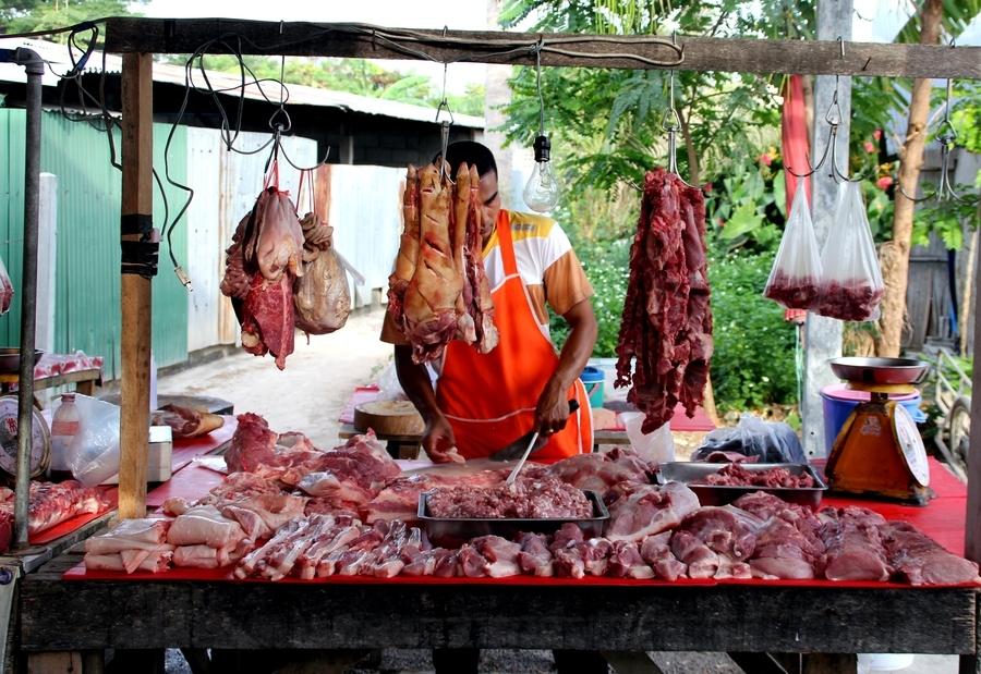 Мясо в Таиланде