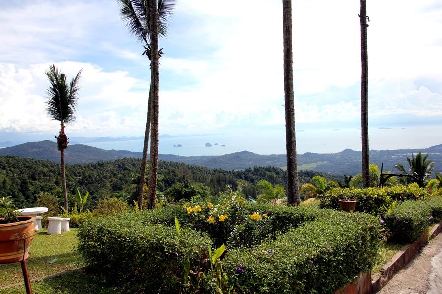 Вид на остров Самуи. Таиланд