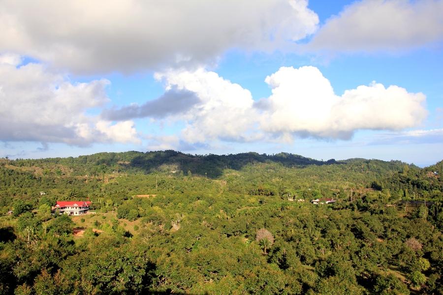 View Point на Самуи. Вид на горы