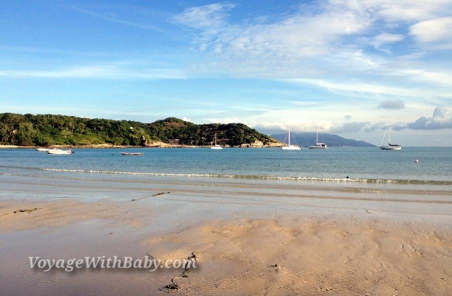 Пляж Choeng Mon на острове Самуи