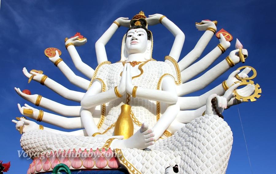 богиня Гуаньинь (Guanjin) на Самуи