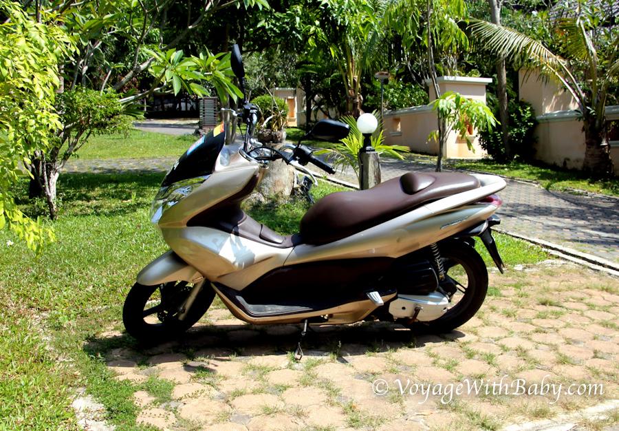 мотобайк Honda PCX в Тайланде