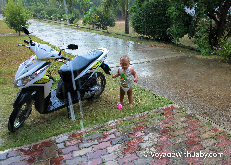 Сезон дождей на Самуи