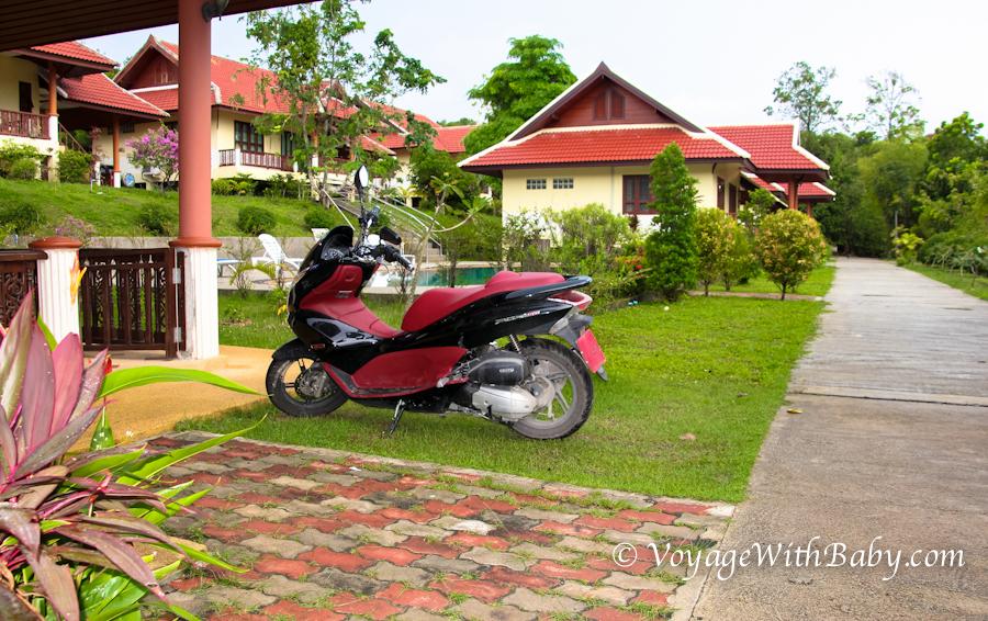 Наш новый Honda PCX в Таиланде (Самуи)