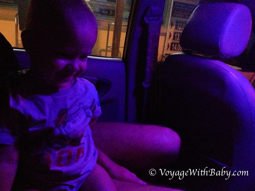 Виза-ран из Самуи в Малайзи с ребенком