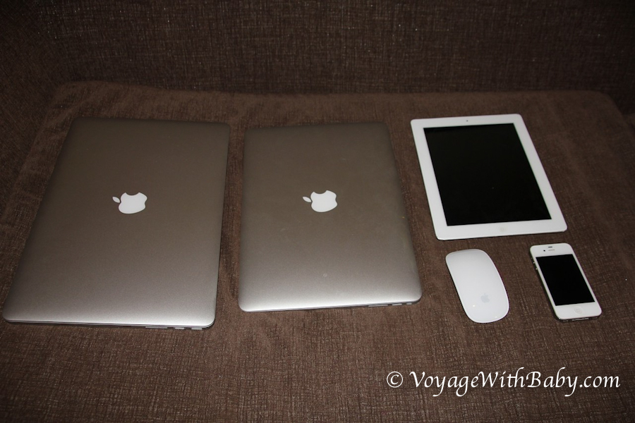 MacBook Air, MacBook Pro, iPad, iPhone в Таиланде