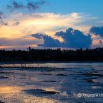 Пляж Чонг Мон (Choeng Mon) - отлив, закат и мы