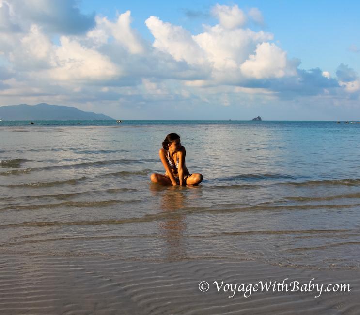 Пляж Чонг Мон (Choeng Mon) на острове Самуи, Таиланд