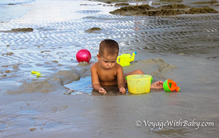 Пляж Чонг Мон (Choeng Mon) - отлив, закат и мы :) ФОТО