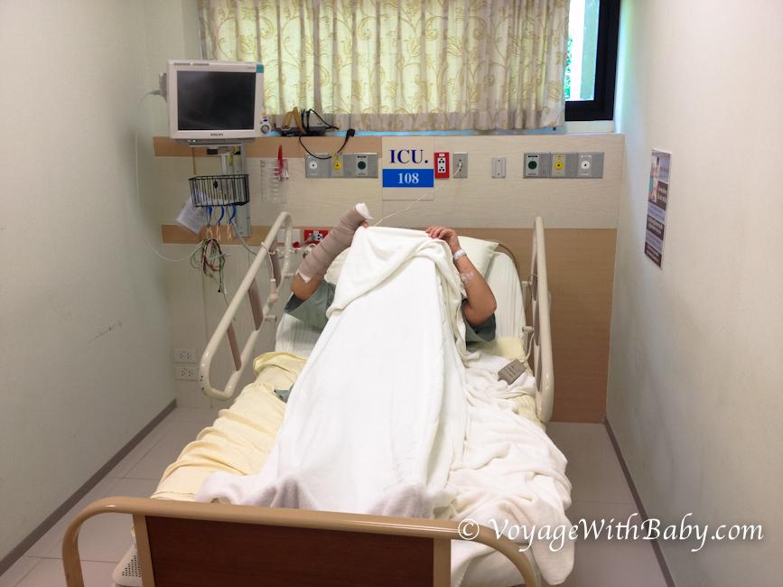 Несчастный случай в Таиланде