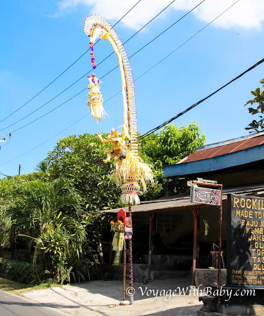 Пенджоры. Галунган на Бали