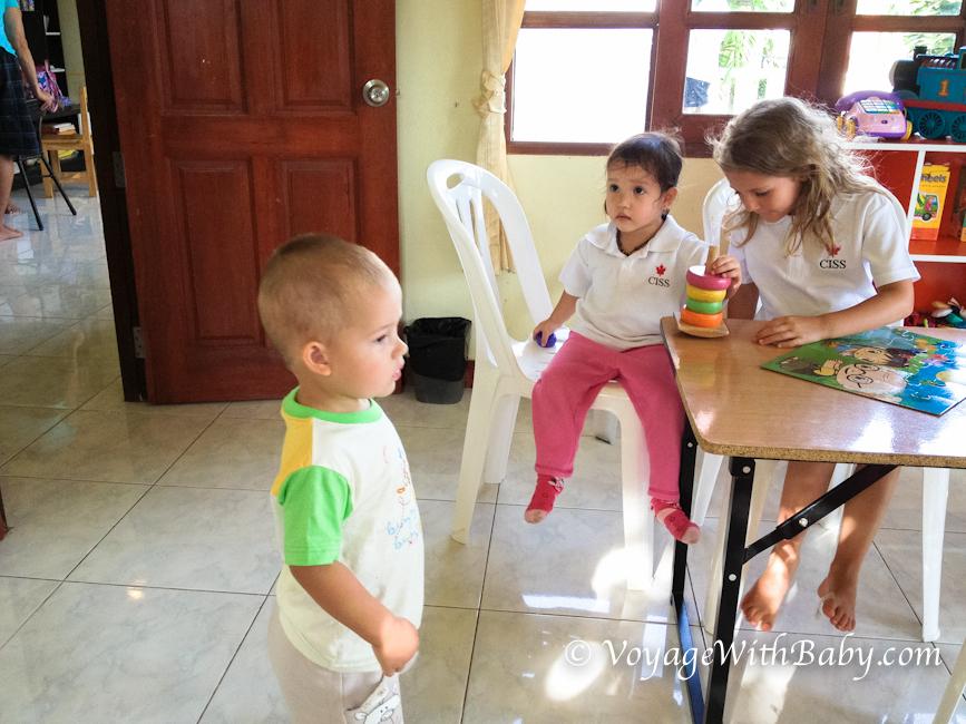 О детских садиках и нянях в Таиланде