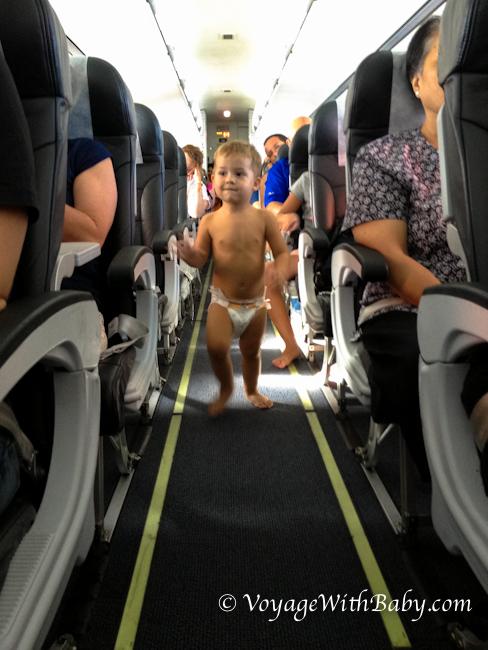 Перелет с ребенком в 1 год и 10 месяцев