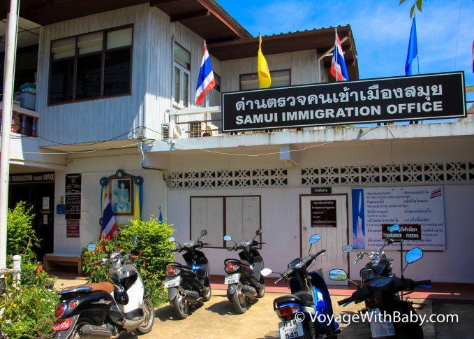 Продление тайской визы на Самуи