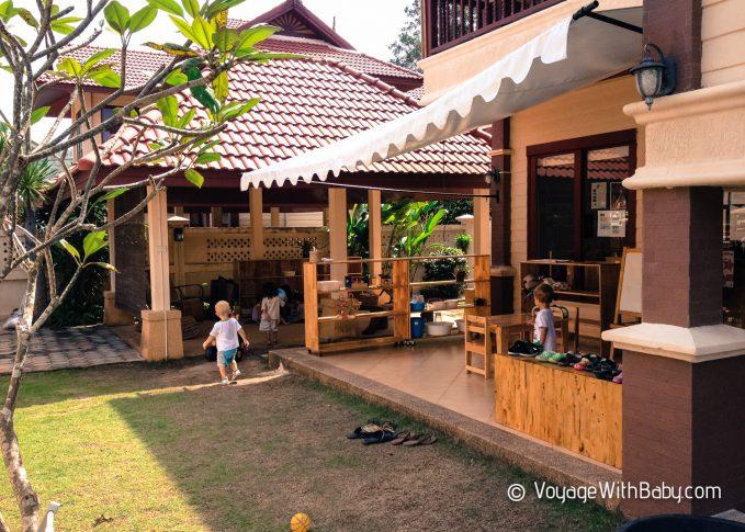 Детские садики в Таиланде