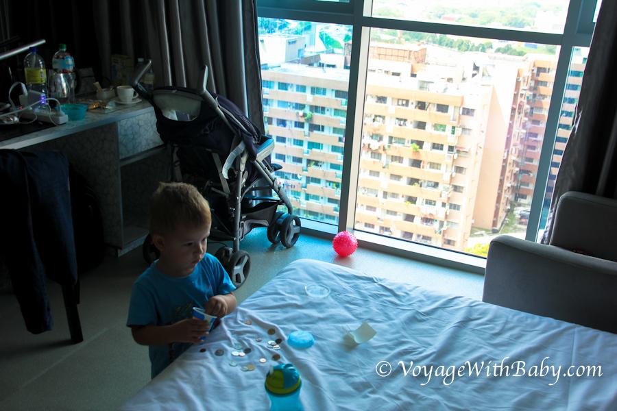 Vivatel – отель, в котором мы жили в Куала Лумпуре