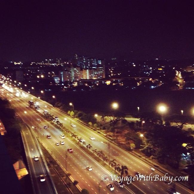 Куала Лумпур ночью