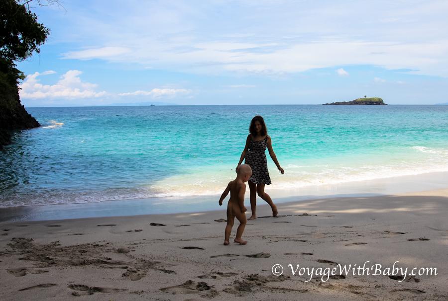 Пляж White Sand Beach на Бали - хороший пляж!