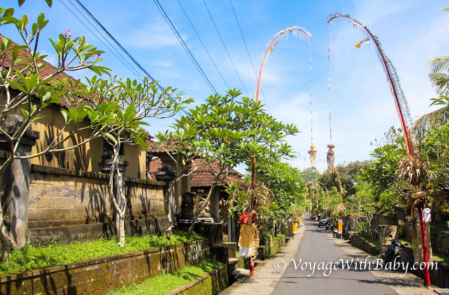 Улица в Убуде на Бали
